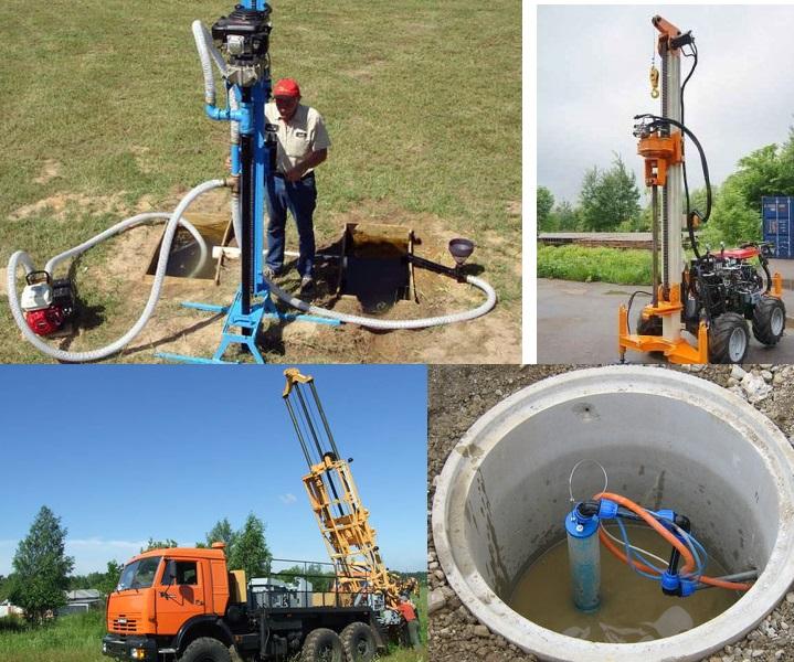 Оборудование скважины под воду своими руками 62